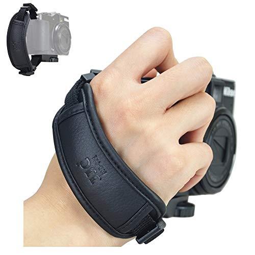 JJC Soft Compact Camera Hand Grip Strap for Sony A7R A7S A7 A6500 A6300 A6000 A5100 A5000 A3000 A37 A57 A58 A68 A77 A99 RX100 VI VA V RX10 IV III II HX400V HX300 H400 H300 HX99 HX90V HX80 HX60 HX50