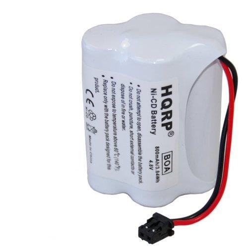 HQRP Battery for RadioShack 20-520, PRO-90 Scanner plus HQRP Coaster