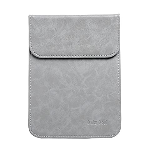 Cuku Cool Sleeve Cover Kindle Paperwhite/NEW-Kindle/Kindle Voyage Case PU Leather Waterproof Cover (Waterproof Kindle Voyage Case)