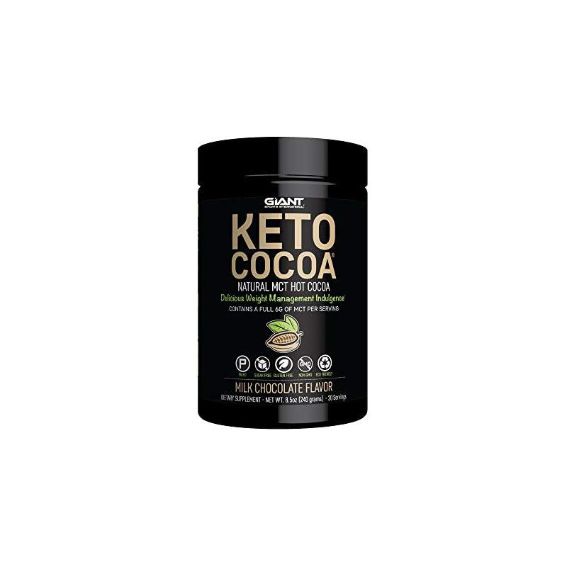 Giant Sports Keto Cocoa - Sugar Free Hot