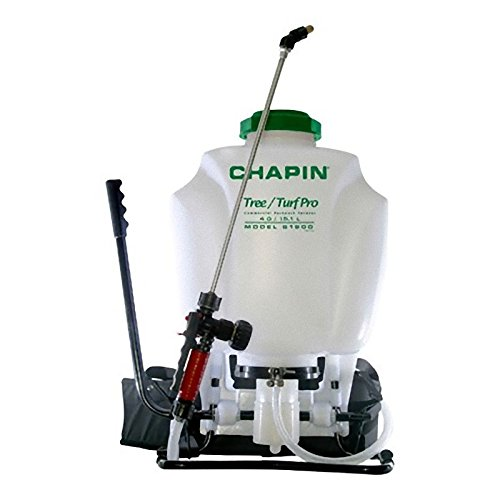 Chapin 61900 4-gal Tree/Turf Pro Commercial Backpack Sprayer Steel Wand