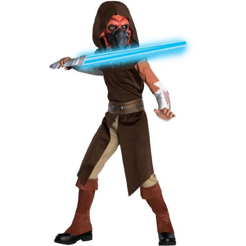 Deluxe Plo Koon Costumes - Star Wars Animated Deluxe Plo Koon