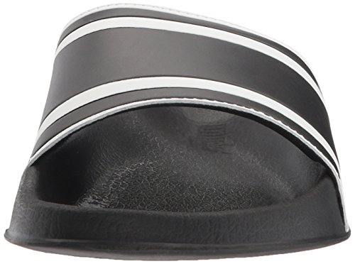 Unlisted By Kenneth Cole Mens Forma Slide Sandalo Nero