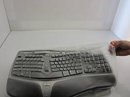 Viziflex\'s formfitting keyboard cover for Microsoft 4000 model 1048, KU0462