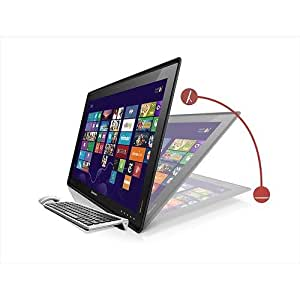 "Lenovo - IdeaCentre Horizon 27"" Portable Touch-Screen All-In-One Computer - 6GB Memory - 1TB Hard Drive - Windows 8"