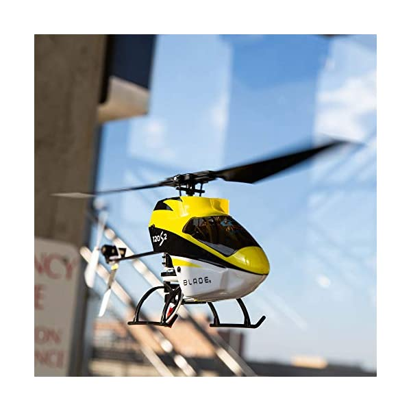 Blade-RC-Helicopter-120-S2-BNFTransmitter-not-Included-with-Safe-Technology-BLH1180-YellowBlack