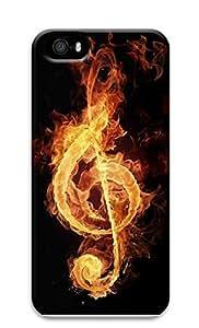 iPhone 5 5S Case Music Fire 3D Custom iPhone 5 5S Case Cover