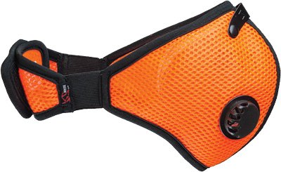 RZ Mask 45236 RZ Mesh Mask (Safety Orange, Adult XL)