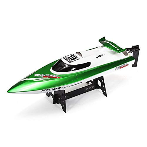 MCJL Remote Control Boat, 2.4G Speedboat Mini Water Toy Submarine Model, high Speed Navigation, boy Competition Toy, Water Cooling System, Suitable for Summer Beach