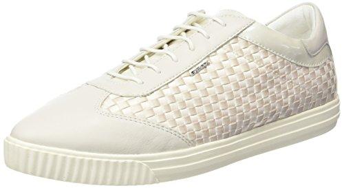 le Couleur blanco Beige Mod off Blanc Marque Beige D Basket Basket White Geox Amalthia 5XqwgRpp