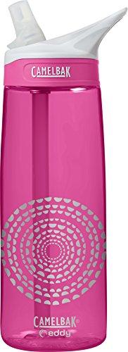 CamelBak eddy Water Bottle, .75L, Pink Medallions - 0.75l Camelbak Water Bottle