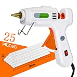 Hot Glue Gun Universal Hot Glue Gun Hot Melt Adhesives Small Processes and Quick Repairs for Home and Office (80W)