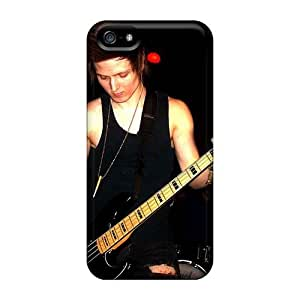 Iphone 5/5s BOv14089hETv Unique Design Stylish Asking Alexandria Band Image Anti-Scratch Cell-phone Hard Cover -EricHowe