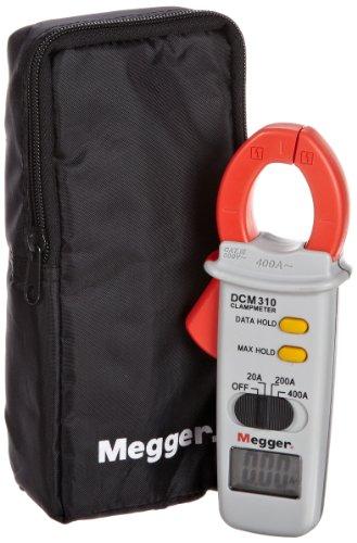 Megger DCM310-EN Digital Clamp Meter, 400A AC Current