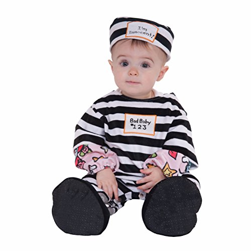 Forum Novelties Baby's Lil' Law Breaker Infant Costume, Multi]()