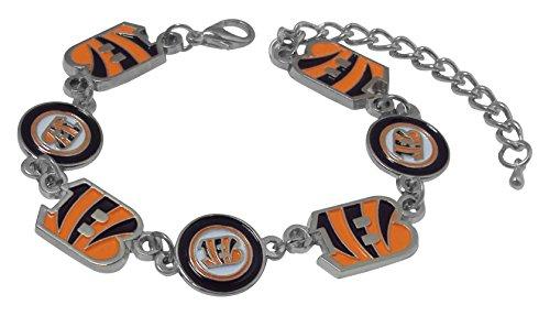 NFL Cincinnati Bengals Logo Bracelet ()