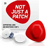 NOT JUST A PATCH for Freestyle Libre, Dexcom and Medtronic Sensors. 10+ Days - Longest Lasting - Hypoallergeni