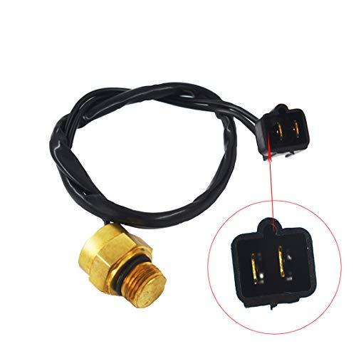 WFLNHB Radiator Fan Thermal Switch Sensor Fit for Polaris Sportsman Xplorer Scrambler 4010161 (Radiator Thermal)