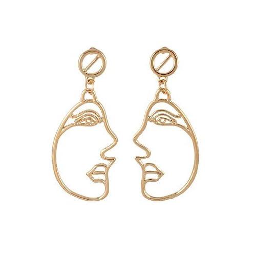 MJW&EH Femme Boucles d'oreille goutte , simple Basique Alliage , Bijoux Quotidien Rendez-vous Bijoux de fantaisie