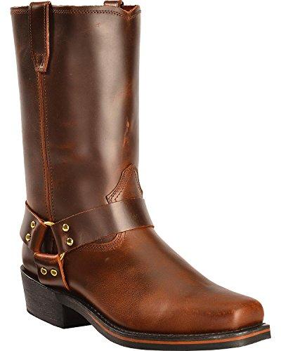 Dingo Men's Dean Boot,Mahogany,11.5 D US