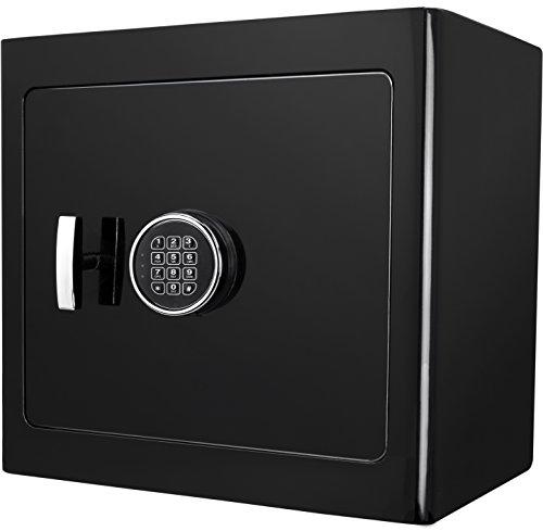 BARSKA AX13106 Black Keypad Jewelry Safe Black Interior ()