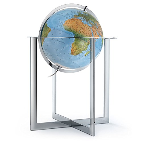 """Used, Waypoint Geographic Maranello 20"""" Floor Globe Metal for sale  Delivered anywhere in USA"""