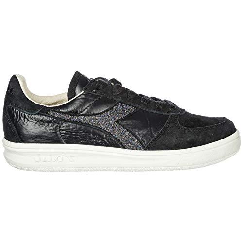 Chaussures Elite Femme b en Diadora Noir Sneakers Heritage Daim Baskets pTg51qOKw