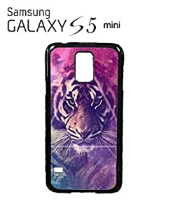 Galaxy Tiger Animal Leopard Mobile Cell Phone Case Samsung Galaxy S5 Mini White
