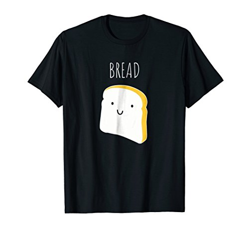 Funny Halloween Couples Shirt - Bread