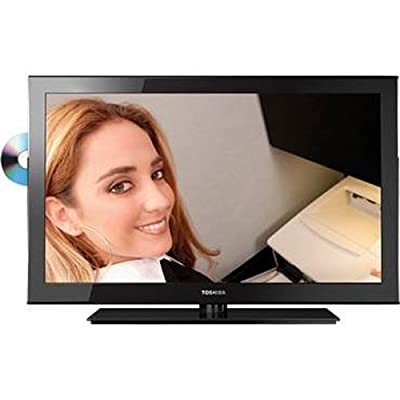 Toshiba 32SLV411U 32-Inch 720p LED-LCD HDTV with Built-in DVD Player, Black