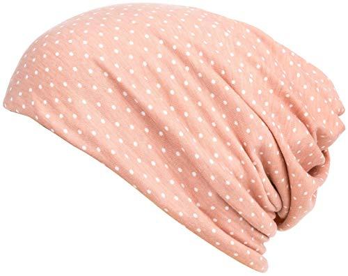 (DancMolly Print Flower Head Cap Cancer Hats Beanie Stretch Casual Turbans for Women)