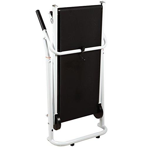 H.B.S Folding Portable Incline Manual Treadmill Walking Running Fitness Gym Machine