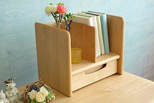 ISSEIKI ブックスタンド 幅35 ナチュラル 木製 ERIS KIDS 35 BOOK STAND (NA) B00O3POGT4  ナチュラル