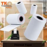"""Thermal King, 2 1/4"""" x 50' Thermal Paper, 50 Rolls"""