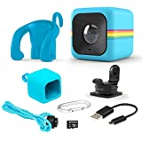 Polaroid Cube Act II - HD 1080p Mountable Weather-Resistant Lifestyle Action Video Camera & 6MP Still Camera w/Image Stabilization, Sound Recording, Low Light Capability & Other Updated Features