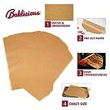 Baklicious 220 pcs Parchment Paper Sheets