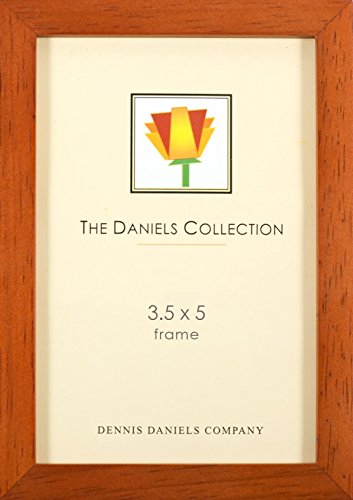 Dennis Daniels Gallery Woods Picture Frame, 3.5 x 5 Inches, Cherry (Colored Wood Picture Frames)