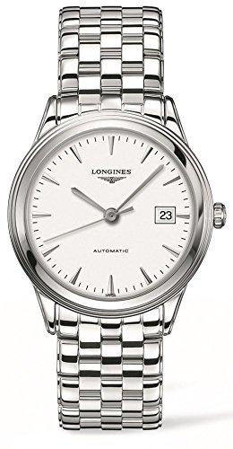 Longines Men's Swiss Automatic Flagship Stainless Steel Bracelet Watch 39mm L48744126