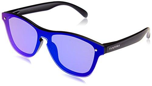 SUNPERS Sunglasses SU40003.0 Lunette de Soleil Mixte Adulte, Noir