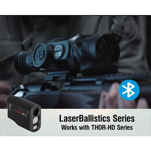theOpticGuru ATN Laser Ballistics Range Finder w/Bluetooth, Ballistic Calculator and Shooting Solutions App (1000m) by theOpticGuru