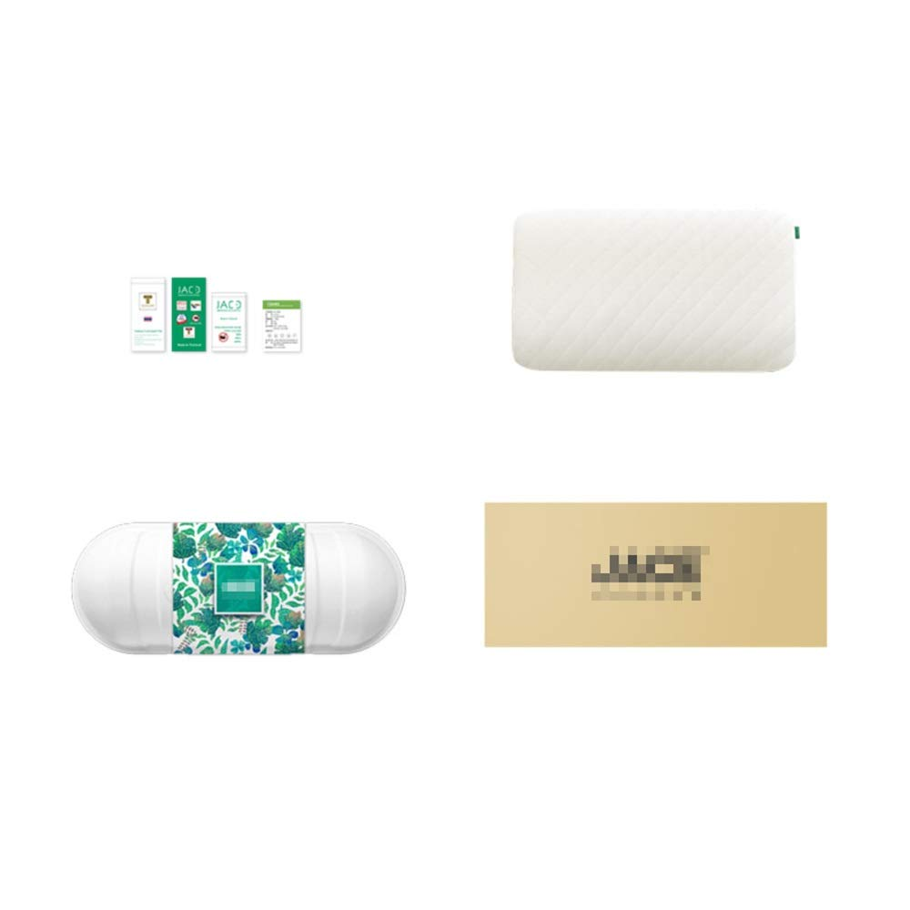 WTGG-Home Textile Latex Pillow - Thailand Imported Natural Latex Pillows Wave Pillows Gift Box /& by WYGG (Image #5)