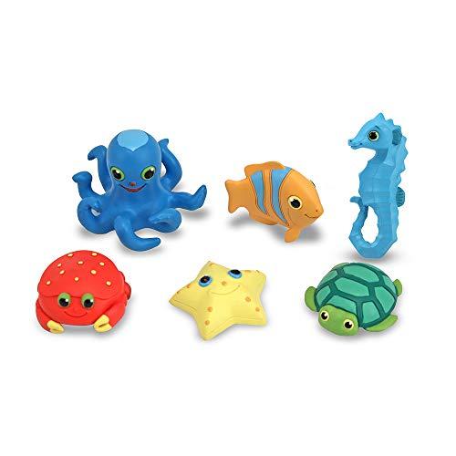Melissa & Doug Sunny Patch Seaside Sidekicks Creature Set - Water Toys for ()