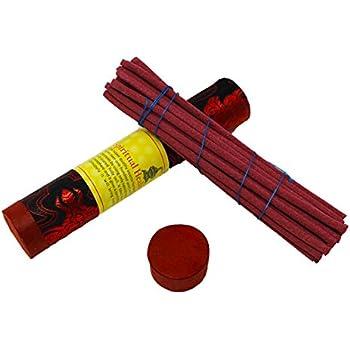 Juccini Tibetan Incense Sticks ~ Spiritual Healing Hand Rolled Incense Made  from Organic Himalayn Herbs (Spiritual Healing)