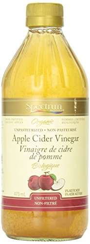 Spectrum Apple Cider Vinegar Organic, Unfiltered