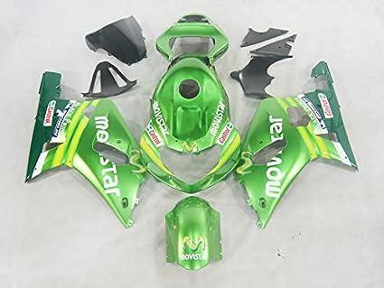 Moto Onfire Motorcycle Fairings Plastic Kit For Suzuki GSXR 750 GSXR 600 K1  2001 2002 2003 GSX-R750 600 - Green