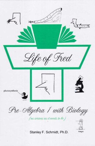 Life of Fred 2-Book Set : Pre-Algebra 1 with Biology, Pre-Algebra 2 with Economics