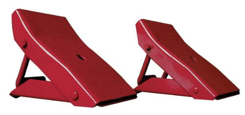 Torin Big Red Steel Safety Wheel Chock: Foldable Tire Stop, 1 Pair TD3553