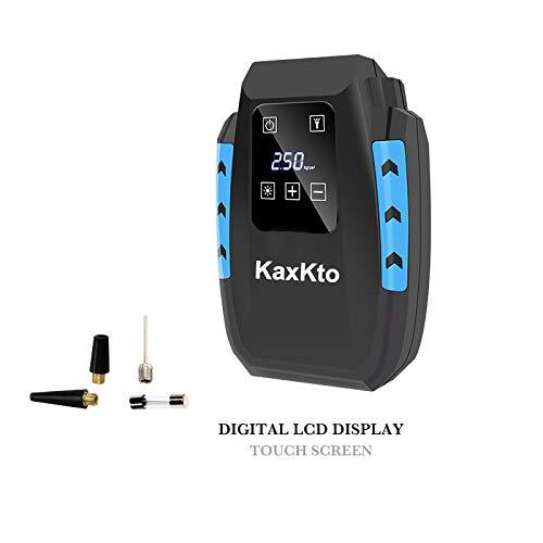[해외]Kaxkto 휴대용 공기 압축기 펌프 자동차 타이어 인플레이터 및 미니 자전거 펌프 자동차 농구 자전거 다른 팽창식 에 대 한 긴 케이블 디지털 터치 스크린 디스플레이 / Kaxkto Portable Air Compressor Pump Auto Tire Inflator and Mini Bike Pump...