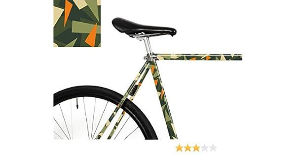 mooxi de Bike Bicicleta de Pantalla Camuflaje triángulos – tu Bike en Camuflaje de Look. (Suficiente para Notebook áreas): Amazon.es: Deportes y aire libre