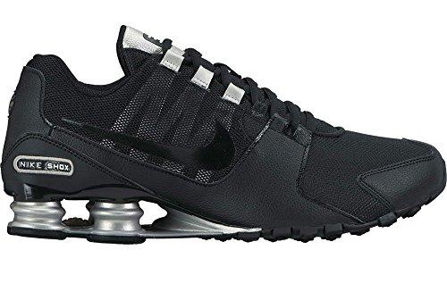 Nike Shox Avenue Sz 11.5 Hommes Chaussures De Course Noir Nouveau Dans La Boîte